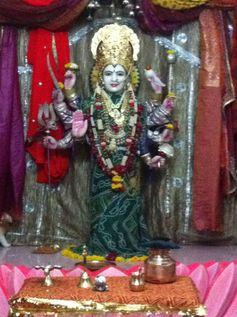 ~ Shri Ambaji Mata ~ Today's special Darshan from Rajkot, Gujarat. January 4, 2013