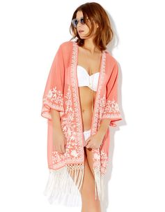Katia Kimono   Pink   Accessorize