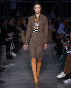Look 64 from Tempest, #RiccardoTisci's #Burberry Autumn/Winter 2019 show
