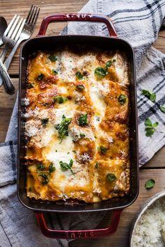 Spicy Mexican Lasagna Roll Ups | Half Baked Harvest