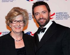 President Frances Cassidy & Actor Hugh Jackman