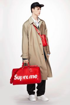 Louis Vuitton Men's Fall-Winter 2017 Collection by Kim Jones - Look 4
