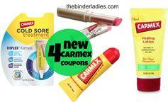 Carmex: 4 New Lip & Skin Care Coupons!