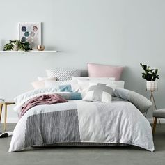 Mercer + Reid Kasuki Quilt Cover Set, quilt covers, doona covers