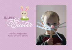 Bunny Face - This simple Easter project for kids leads to a great photo opp! Use the picture for a card or gift for grandma. You can even use photos on your phone by printing them using the My Kodak Moments app. Download it for iOS or Android --> http://kodak.ly/1bJai1N  #Easter #photo #photography #DIY #craft #project #inspiration #idea