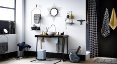 Salle de bain rétro #rétro #moderne #vintage #salledebain #bain #zodio #décoration #tendance