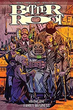 Amazon.com: Bitter Root Volume 1: Family Business (9781534312128): Walker, David F., Brown, Chuck, Greene, Sanford: Books