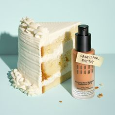 Cake is for eating, not for foundation. Meet Skin Long-Wear Weightless Foundation SPF 15 #AllDaySmile