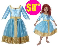 Amazon or Target.com:  Disney's Brave Merida Costume = $9.99 + FREE Shipping Options! Regularly $21.99!