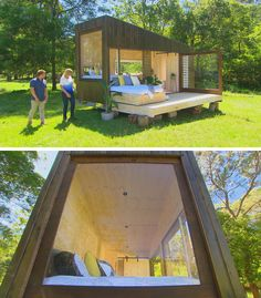 This Modern Tiny House Has A Pull-Out Daybed