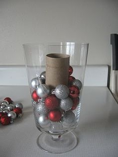 Use a toilet paper roll as a filler GENIUS