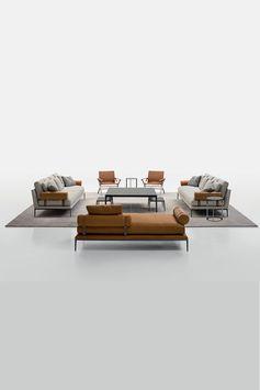 Versatility at its finest: meet the B&B Atoll seating system  by Antonio Citterio, ideal for a wide range of settings.  #bebitalia #atollsofa #antoniocitterio