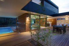 Une maison en bois tres classe (Sydney, Australie)