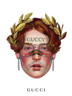 Inspired by theGucci Cruise 2018show at Palazzo Pitti in Florence which featured a new way of writing the House name—Guccy, Guccify and Guccification—Ignasi Monrealshows newGucci Eyewear frames and crystal-studded butterfly earrings for the newGucci Giftcampaign.