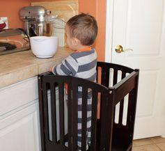 Kitchen Safety Helper tower.