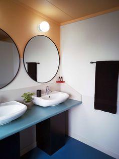 Custom bathroom design for Mititai Project by Myriam Rigaud New Zealand
