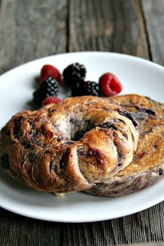 NY style Blueberry Bagels - Well Floured