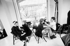 Fendi Men's Fall/Winter 2018-19 Fashion Show Backstage