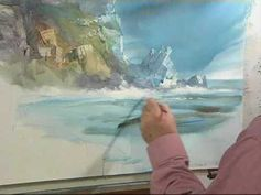 ▶ Painting with Acrylics with Arnold Lowrey - YouTube