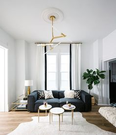 Townhouse Décor Ideas — Sitting Room  | Scandinavian Design Interior Living | #scandinavian #interior