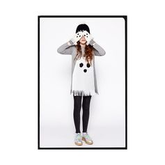 Ghostly gouls make a scary appearance on dresses, knitwear and accessories for Halloween.