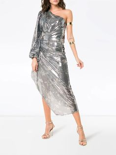 Hello there, human disco ball. 50+ metallic dresses right this way