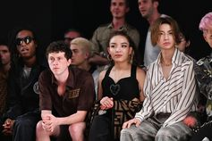Bakar, Finnegan Oldfield, Miss Vava and Lil Ghost at the Fendi Men's Spring/Summer 2019 Fashion Show.