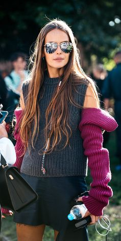CALVIN KLEIN 205W39NYC open shoulder knit jumper, shop now on Farfetch.