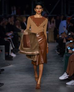 Look 65 from Tempest, #RiccardoTisci's #Burberry Autumn/Winter 2019 show