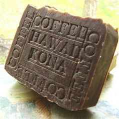 Kona #coffee Soap