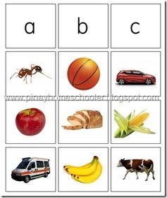 Alphabet Sound Card Preview