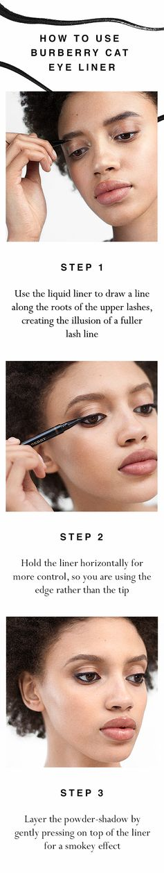 Create a mesmerising cat eye effect with Burberry Cat Eye Liner
