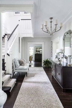 Entrée d'appartement – hall – design hall chic – Entrée maison