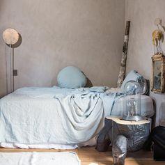 parure de lit bleu ciel Bed&Philosophy