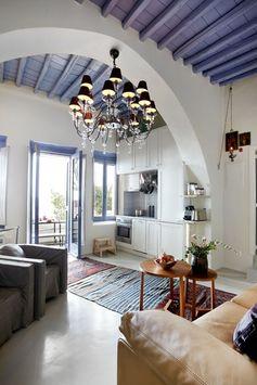Tinos-  summer house -Greece - Found on  Found on greekluxuryvillas.com