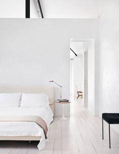 Une chambre aux tonalités douces