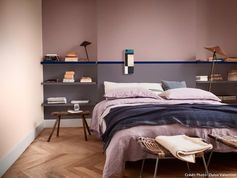 Chambre cocooning brun cachemire