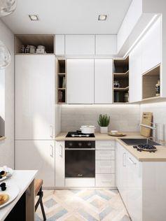 Дизайн-баттл: как обустроить маленькую кухню в хрущевке — INMYROOM