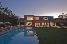 The Stoneridge Residence Received A Modern Remodel, Including A New Upper Floor