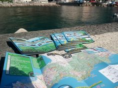 Cycling Amalfi Coast's cycling maps.