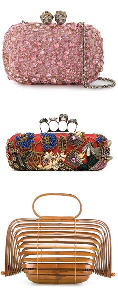 Add a little bling to your clutch bag this season with stylish finds from Farfetch.com