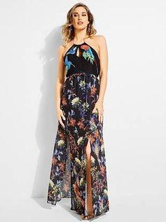 Birds of Paradise Maxi Dress | GUESS.com