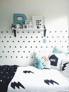 Inspirations : cette petite chambre en noir et blanc – partie 2