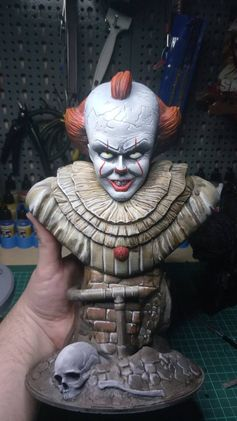 Stephen King's It designed and printed by Tomáš Docik Dotzauer #toysandgames #prusai3 #mmu2