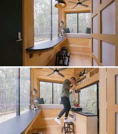 Take A Look Inside This Minimalist Tiny House With A King Size Sleeping Loft