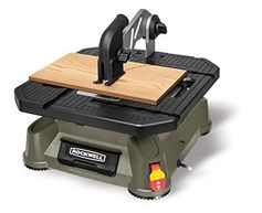 Rockwell BladeRunner X2 Portable Tabletop Saw with Steel Rip Fence, Miter Gauge, and 7 Accessories - RK7323 Rockwell