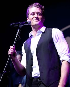 Singer Matthew Morrison. The American Australian Association Benefit Dinner.