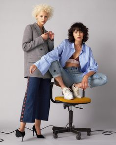Our organic Stella denim delivers naturally sexy appeal with deep indigo hues and drainpipe cuts that flatter the leg.