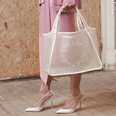 Transparent shoes and accessories to see you through the new season. Shop these and more online and in-store today.   #StellaMcCartney #StellasWorld