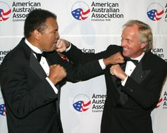 Boxer Muhammad Ali & Professional Golfer and Entrepreneur Greg Norman